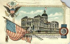 Indiana State Capitol Indianapolis IN Unused