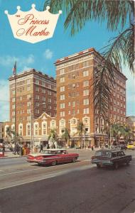 St Petersburg Florida~Princess Martha Hotel & Street Scene~NICE Classic Car~'60s