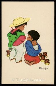 Mexican Children - Mexico Tipico