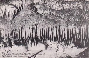 The Fish Market Caverns Of Luray Virginia