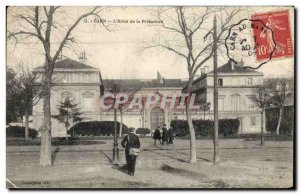 Old Postcard Caen Hotel de la Prefecture