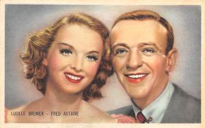 Lucille Bremer & Fred Astaire Movie Star Unused