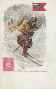 NORWAY, 1901-07; La Poste en Norwege ( Laponie )