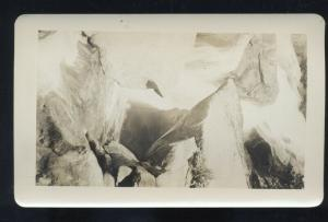 REAL PHOTO PUEBLO COLORADO ARAPAHOE FALLS WATERFALL 4 X 6.5 PHOTOGRAPH