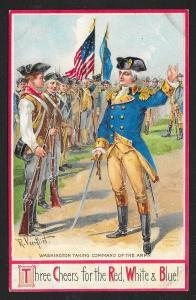 Washington Birthday Commanding Army Unused c1910s