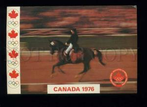 179260 Olympics 1976 Equestrian Sports old postcard