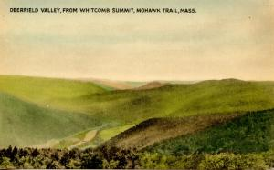 MA - Berkshires, Mohawk Trail. Deerfield Valley from Whitcomb Summit