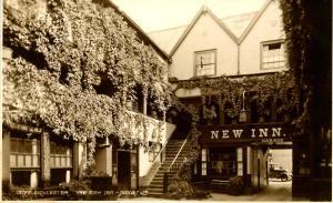 UK - England, Gloucester. The New Inn Garage - RPPC
