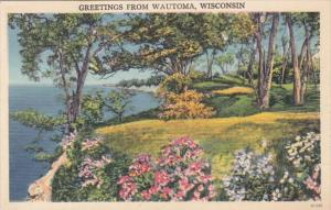 Wisconsin Greetings from Wautoma