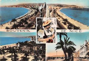 France La Cote d'Azur Nice Plage Promenade Beach General view