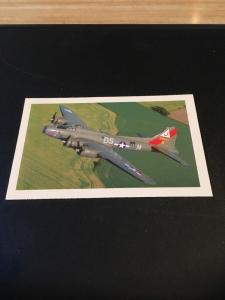 Vtg Postcard: Boeing B-17 Flying Fortress , The Pink Lady