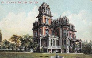 SALT LAKE CITY, Utah, 1900-1910s; Gardo House