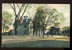 Providence, Rhode Island/RI Postcard, Sprague Mansion