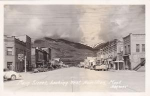 RP: Main Street , Looking West , HAMILTON , Montana , 30-40s