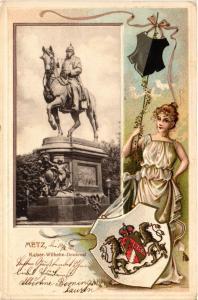 CPA Metz, Kaiser-Wilhelm-Denkmal (393073)