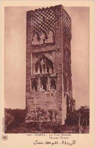 Morocco Rabat Hassan Tower 1920-30s