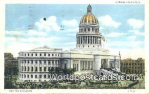 Habana Republic of Cuba Capitol Building  Capitol Building