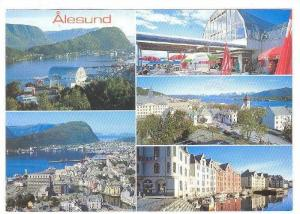 5-Views Of Alesund, Norway, 1970-1980s