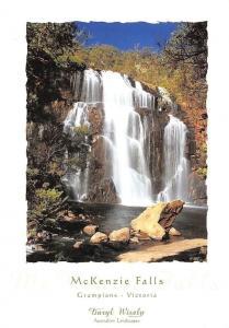 Australia McKenzie Falls, The Grampians Victoria Waterfall Cascade