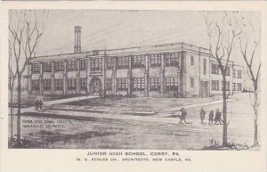 Pennsylvania Corry Junior High School Albertype