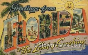 Greetings from Florida Greetings from FL 1953