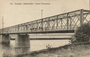 CPA VIETNAM Tonkin DAP-CAU - Pont Tournant (62437)