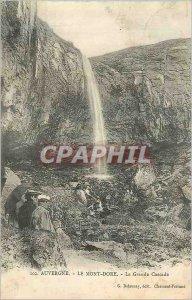 Old Postcard Le Mont Dore Auvergne La Grande Cascade