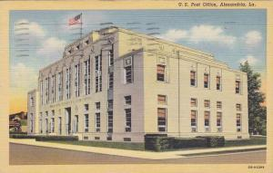 US Post Office, Alexandria, Louisiana, PU 1943