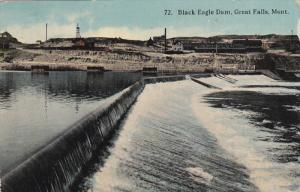 GREAT FALLS, Montana, PU-1914; Black Eagle Dam