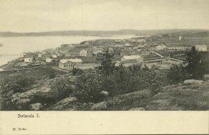finland russia, SORTAVALA, Karelia, Panorama (1899) Postcard