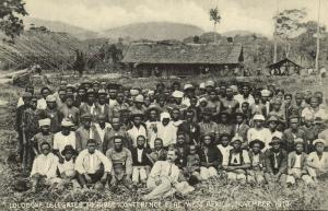 cameroon, D.W.A., LOLODORF, Delegates to Bible Conference Elat (1910s) Mission ?