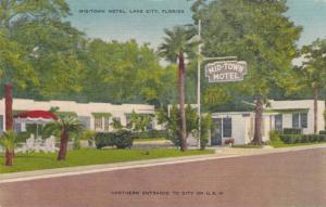 The Mid-Town Motel, Lake City, Florida,PU-1956