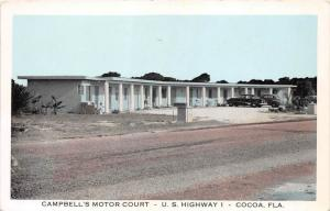 9894  FL Cocoa     Cambell's Motor Court Motel