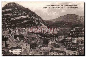 St. Claude - Vue Generale - Old Postcard