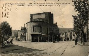 CPA CHAMALIERES L'Avenue de ROYAT (407460)