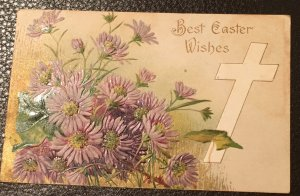 Song of Easter vintage Postcard 1900's with stamp