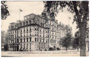 Boston 16, Mass, Hotel Vendome, On Commonwealth Avenue Mall, Back Bay