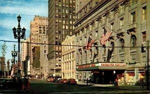 Michigan Detroit Sheraton Cadillac Hotel Washington Boulevard and Michigan Av...