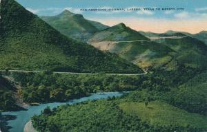 Pan-American Highway from Laredo Texas to Mexico City - Linen