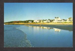 ME View Breakers Cottages Camps Higgins Beach Scarborough Maine Postcard