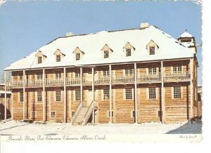 Postal 028558 : Rowands House, Fort Edmonton, Edmonton, Alberta, Canada