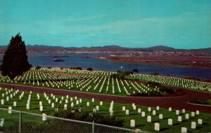 California San Diego Point Loma Fort Rosecrans National Cemetery