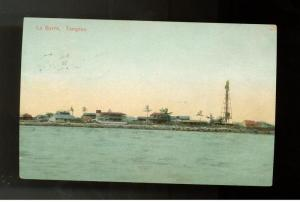 1907 La Barra Tampico Mexico Postcard Cover