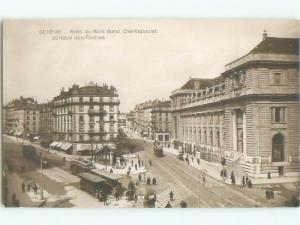 old rppc NICE VIEW Geneva - Geneve Switzerland i2315