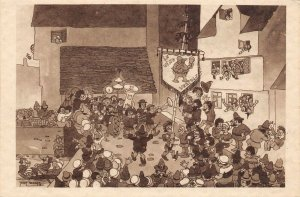 LP62  Chicago World's Fair Picturesque Belgium Postcard Spiritual Society