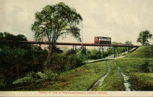 NH - Manchester-Nashua Electric Railway and Trestle, Trolley