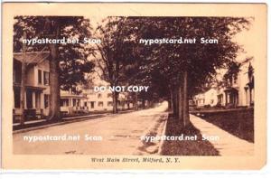 West Main Street, Milford NY