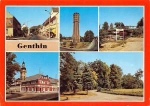 Genthin Wasserturm Plauer Kanal Anlegestelle Adler Apotheke Park Tower