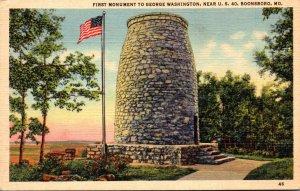 Maryland Boonsboro First Monument To George Washington Near U S 40