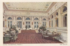 WIEN , Austria, 00-10s ; Hotel Metropole , Die Halle